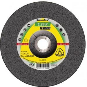 product photo Tarcza do szlifowania kamienia T27 125x6.0x22 C24Rw