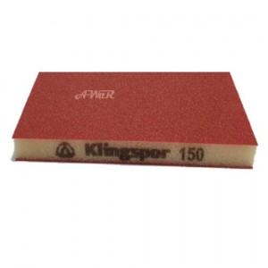 product photo Gąbka szlifierska 96x123x12,5mm gr.150 SW 501 TR (czerwony)