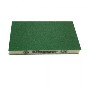 product photo Gąbka szlifierska 96x123x12,5mm gr.120 SW 501 TR (zielony)