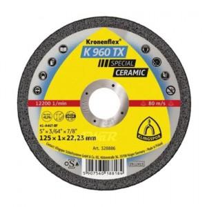 product photo Tarcza do cięcia metalu T41 125x1,0x22 K 960 TX